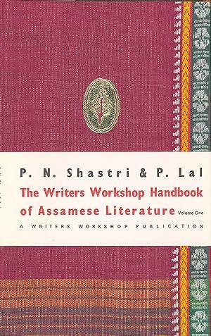 Seller image for Writers Workshop Handbook of Assamese Literature Volume One for sale by PERIPLUS LINE LLC