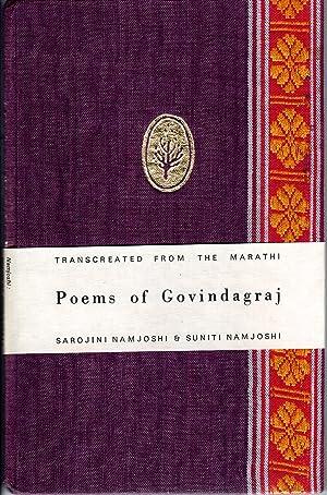 Seller image for Poems of Govindagraj for sale by PERIPLUS LINE LLC