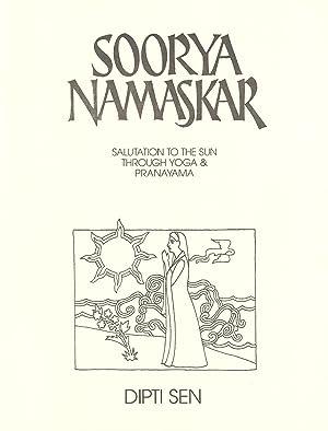 Seller image for SOORYA NAMASKAR: Salutation to the Sun Through Yoga & Pranayama for sale by PERIPLUS LINE LLC