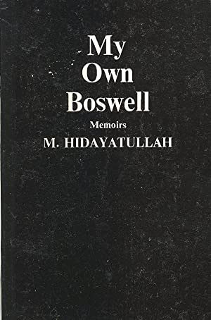 Seller image for MY OWN BOSWELL: MEMOIRS for sale by PERIPLUS LINE LLC