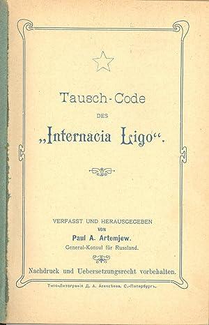 "Seller image for Tausch-Code des ""Internacia Ligo"" for sale by PERIPLUS LINE LLC"