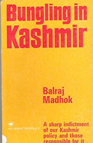 Seller image for BUNGLING IN KASHMIR for sale by PERIPLUS LINE LLC