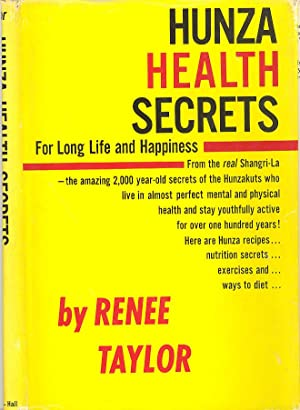 Seller image for Hunza Health Secrets for Long Life and Happiness for sale by PERIPLUS LINE LLC