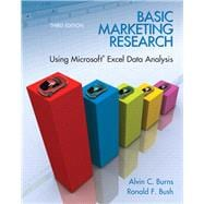 Basic Marketing Research with Excel: Burns, Alvin C;