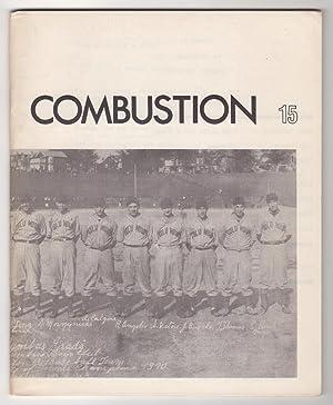 Combustion 15 / Island 6 (1966): Souster, Raymond (ed.),
