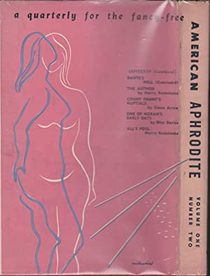 American Aphrodite Volume One, Number Two; A Quarterly For the Fancy-Free: Roth, Samuel