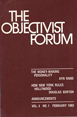 The Objectivist Forum Vol.4 No. 1 February 1983