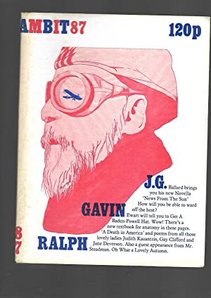 Ambit 87. A Quarterly Magazine of Poems,: J. G. Ballard