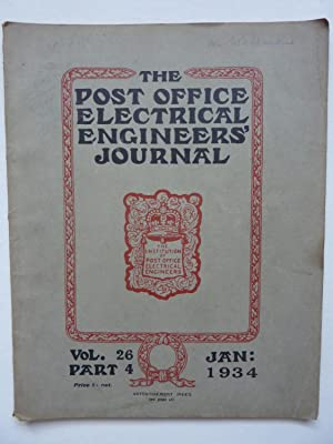 The Post Office Electrical Engineers Journals Jan