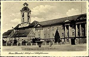 Ansichtskarte / Postkarte Sorau Ostbrandenburg, Schloss mit