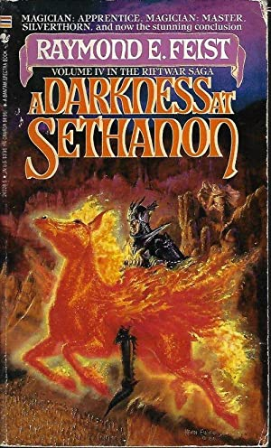 A DARKNESS AT SETHANON: Riftwar Saga # IV