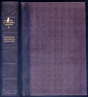 Novelistas anteriores a Cervantes. (La Celestina; Lazarillo: VV.AA.