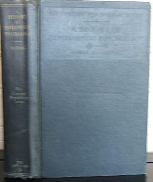 A History of Experimental Psychology: Boring, Edwin G.