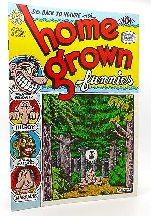 HOME GROWN FUNNIES VOL. 1 NO. 1: R. Crumb