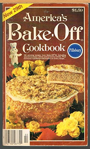 PILLSBURY'S BAKE-OFF COOK BOOK, 29th ANNUAL BAKE-OFF 1980