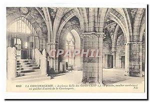 Paris (1er) Carte Postale Ancienne conciergerie Ancienne