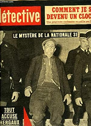 Détective n° 873 - Le crime parfait: André Gerel, Philippe