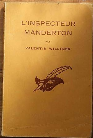 Bild des Verkäufers für L'inspecteur Manderton zum Verkauf von Aberbroc