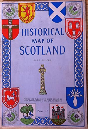 Historical Map of Scotland: L.G. Bullock