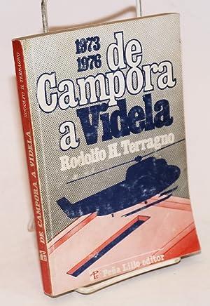 De Cámpora a Videla: Terragno, Rodolfo H.