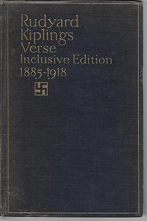 Verse, Inclusive Edition 1885 - 1918: Kipling's, Rudyard