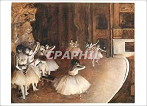 Carte Postale Ancienne Degas Edgar Repetition d'un