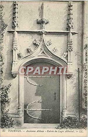 Carte Postale Ancienne TOURNUS-Ancienne Abbaye-Entrée du Login