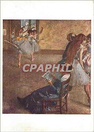 Carte Postale Moderne Edgar Degas (1843 1917)the