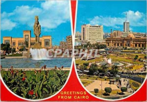 Carte Postale Moderne Greetings from Cairo Souvenirs