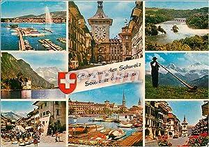 Carte Postale Moderne Suisse souvenir