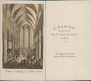 Morier, France, Rouen, Basilique Notre-Dame de Bonsecours: Photographie originale /