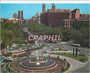 Carte Postale Moderne Madrid Panorama de la