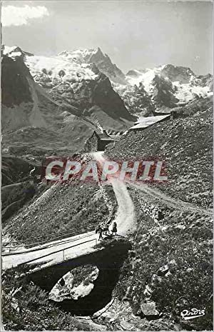 Carte Postale Moderne Paysages Alpestres Chemin Muletier