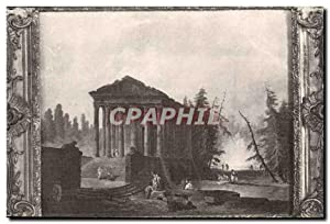 Paris - Palais des Beaux Arts de la Ville Paris - Le Temple Antique - Hubert Robert - Carte Posta...