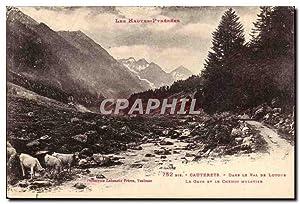 Cauterets Carte Postale Ancienne DAns le val