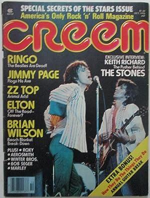 Creem. October 1976: Various Authors