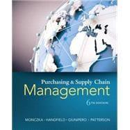 Purchasing and Supply Chain Management: Monczka, Robert M.;