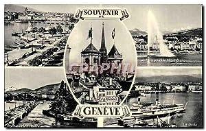 Suisse - Souvenir de Geneve - Carte