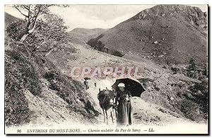 Mont Dore - Chemin de Muletier de