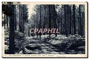 En Gascogne Carte Postale Ancienne Chemin muletier