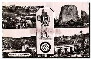 Carte Postale Ancienne Souvenir de Vendee La