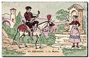 Carte Postale Ancienne Espagne Spain Espana Le