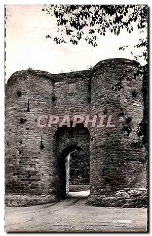 Carte Postale Ancienne Dinan Les Remparts Porte