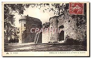 Carte Postale Ancienne Dinan Château de la