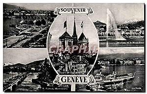Carte Postale Ancienne Souvenir De Tours de