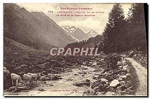 Carte Postale Ancienne Cauterets Dans Le Val