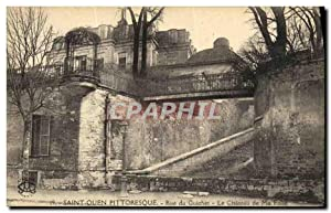 Carte Postale Ancienne Saint Ouen Pittoresque Rue