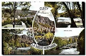 Carte Postale Ancienne Clecy La Suisse Normande