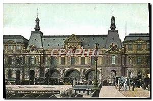 Carte Postale Ancienne Paris Le Louvre Guichet