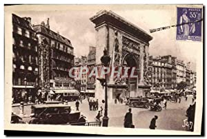Carte Postale Ancienne Paris Les Grands Boulevards Et La Porte Saint Denis
